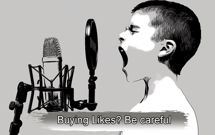Buying Likes? Be careful