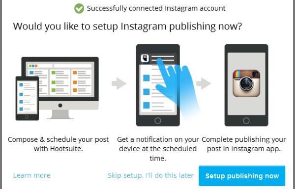 Hootsuite&Instagram למנהלי מדיה חברתית