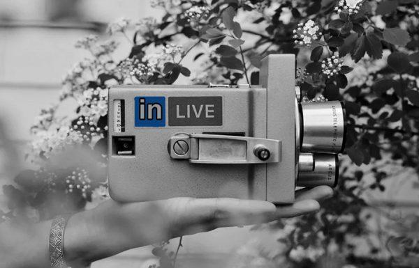 לינקדאין חיה עם שידור וידאו Live